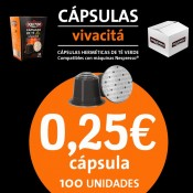 Cápsulas de Té Vivacitá 100 ud.