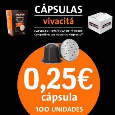 Pack Ahorro Profesional Cápsulas de Té Vivacitá 100 ud.