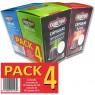 Pack 4 estuches Cápsulas Café compatibles