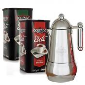 Pack Cafetera italiana + 2 paquetes COFIBOX®