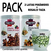 PACK INFUSIONES PIRÁMIDES + TAZA REGALO